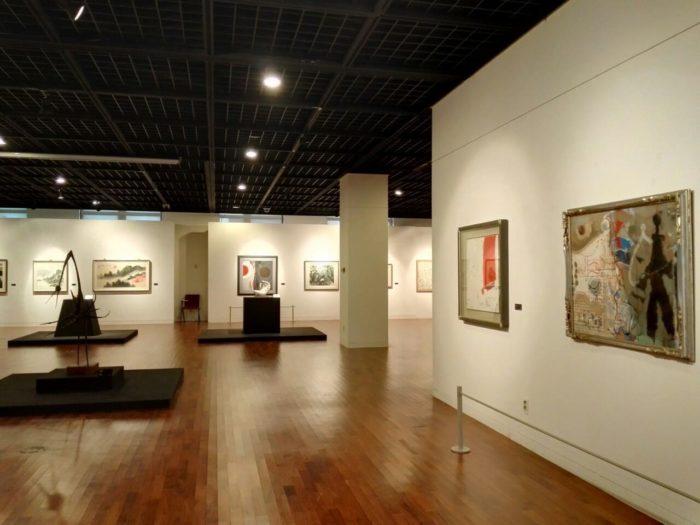 高麗大学博物館の現代アート展示室