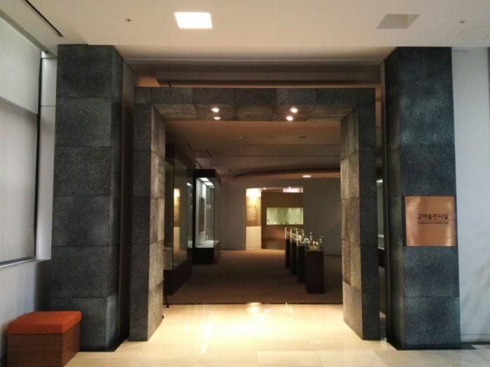 高麗大学博物館の古美術展示室
