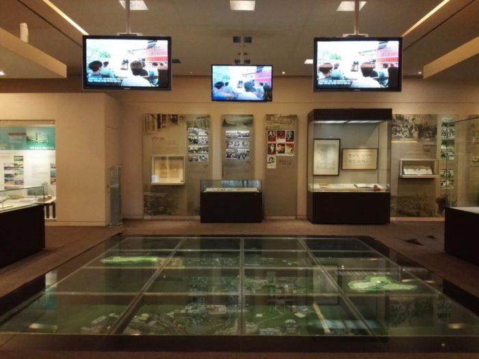 高麗大学博物館の展示室ジオラマ