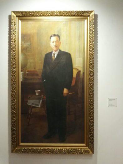 高麗大学設立者金性秀先生の肖像画