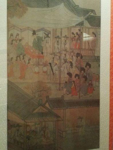 高麗大学博物館の展示品。朝鮮時代に描かれた絵