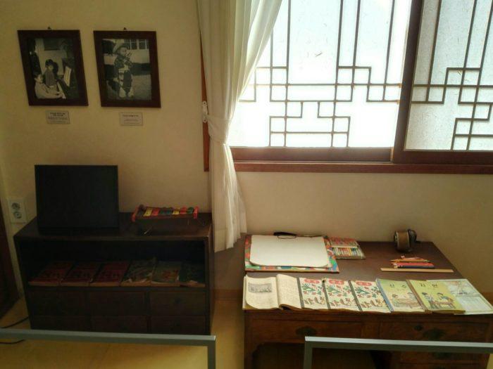 ソウルの朴正熙(パクチョンヒ)家屋。子供たちの部屋