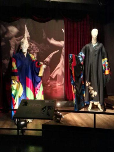 公演芸術博物館の展示衣装