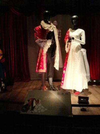 ソウルの公演芸術博物館展示、国立劇団公演「ブリタニクス」衣装