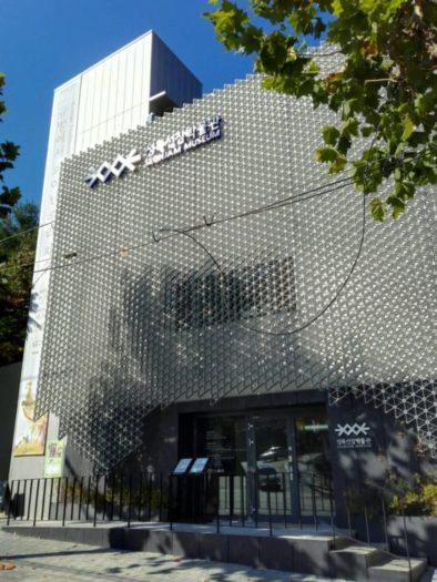 城北先蚕(ソンブクソンジャム)博物館の外観