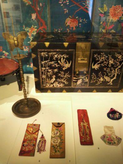 城北先蚕(ソンブクソンジャム)博物館の展示品