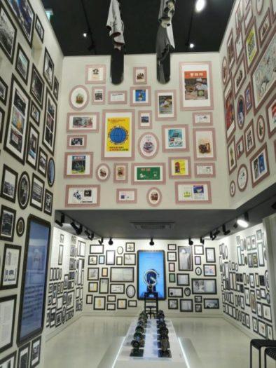 イウムピウム縫製歴史館の展示品
