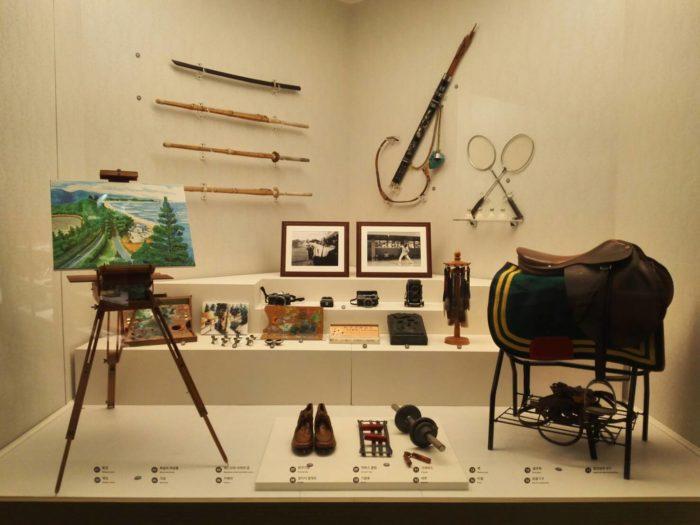 朴正熙大統領記念館。大統領が使用した品々