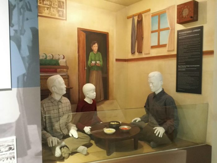 朴正熙大統領記念館。ラジオから流れる5.16軍事革命の公約