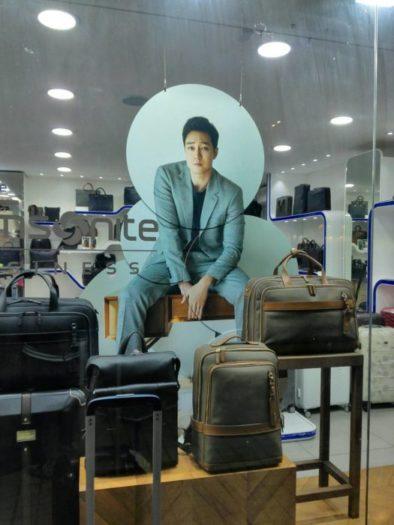 俳優ソ・ジソブ,サムソナイトの広告