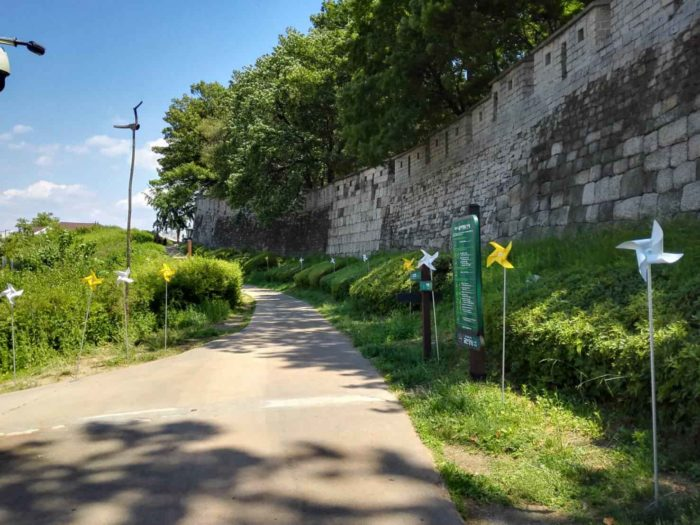 漢陽都城の城郭