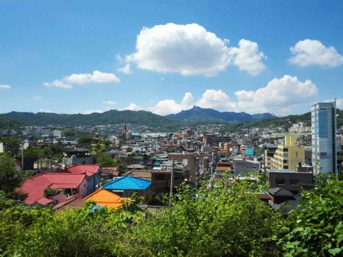 漢陽都城から見た景色