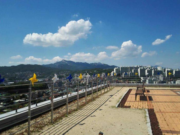 漢城大学から見た景色