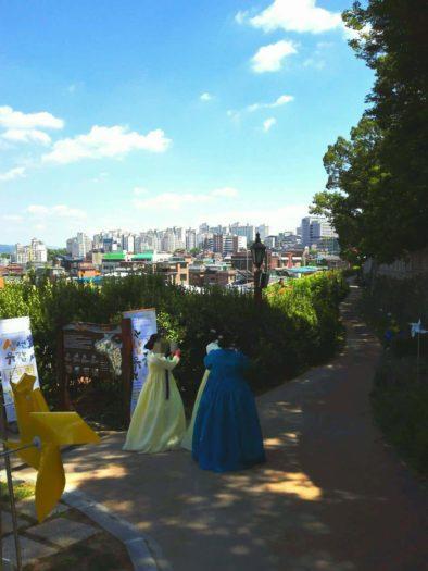 漢陽都城ハニャントソンの城郭ツアー