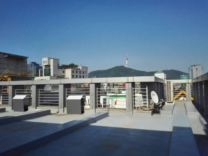植民地歴史博物館。屋上から見える景色