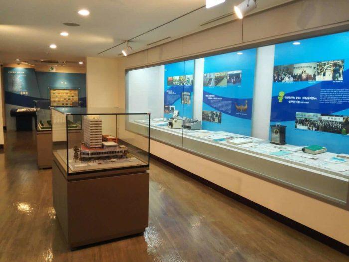 韓国金融史博物館展示室