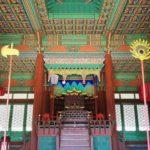 慶熙宮玉座