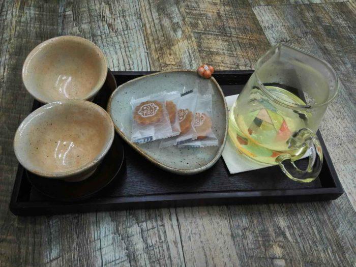 曹渓寺(チョゲサ)ソウルテンプルステイ お茶と茶菓