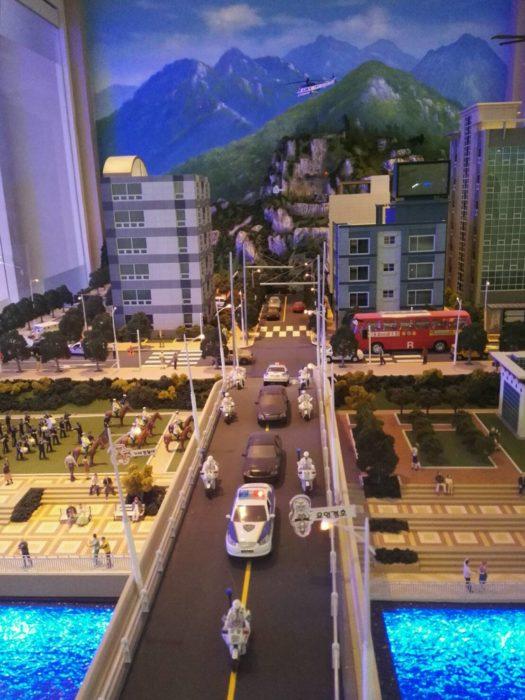 ソウル警察博物館特殊警察の模型