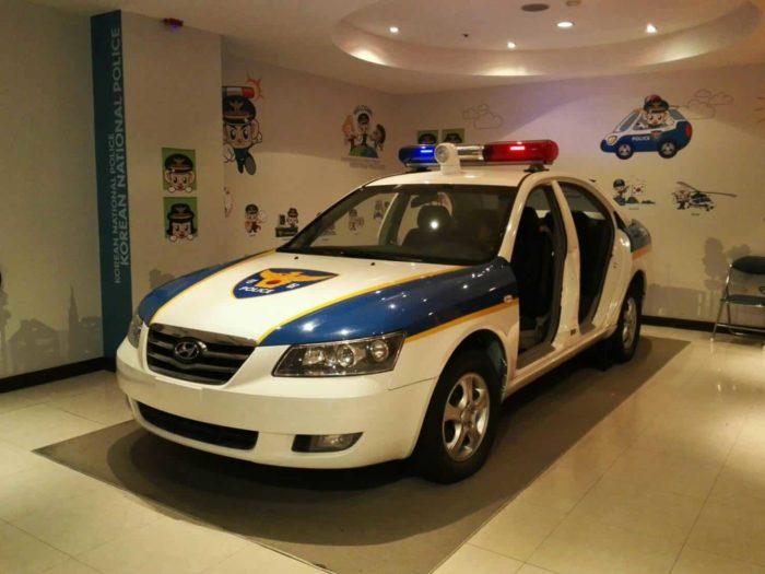 ソウル警察博物館警察車両