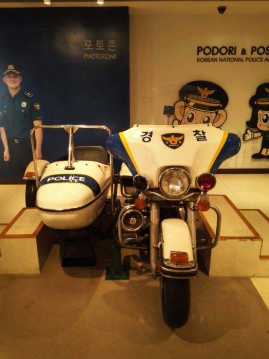 ソウル警察博物館 警察バイク