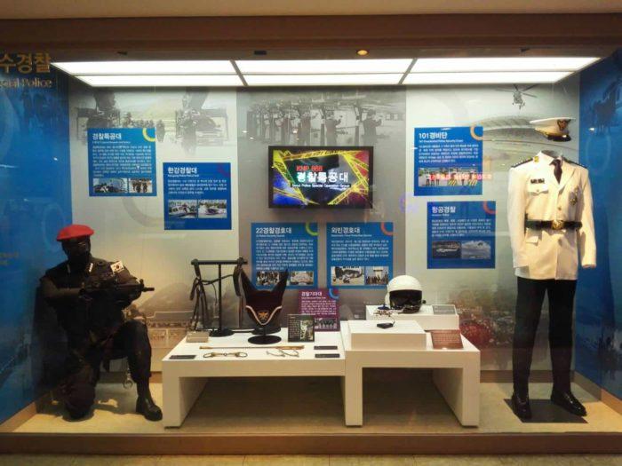 ソウル警察博物館 特殊警察