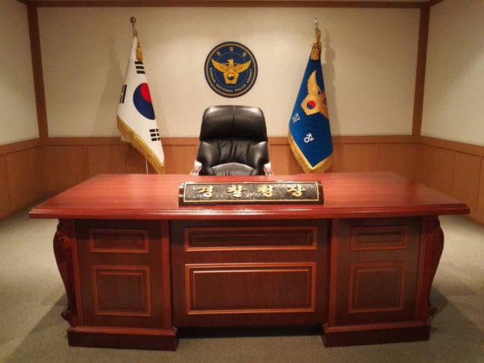 ソウル警察博物館 警察庁長執務室