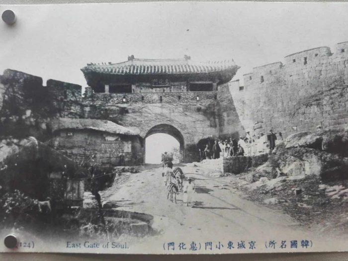 都城博物館 毀損する前の恵化門