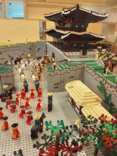 漢陽都城博物館資料室のレゴでつくった東大門