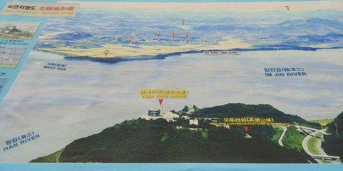 烏頭山(オドゥサン)統一展望台