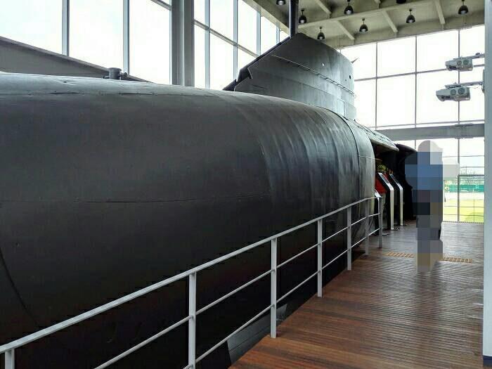 ソウル艦公園潜水艇