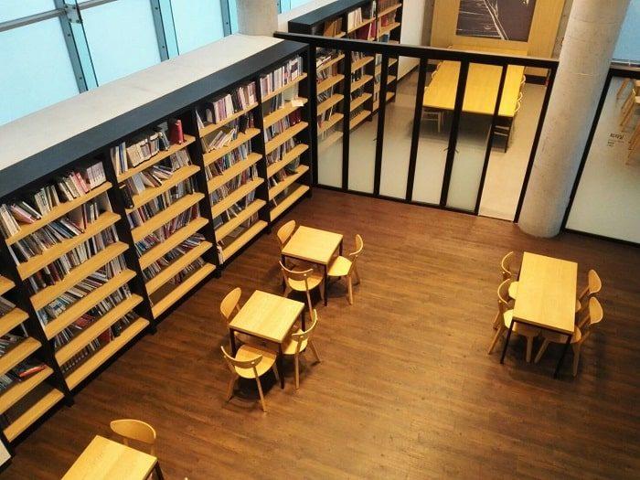 清渓川博物館内 読書スペース