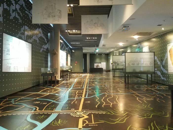 清渓川博物館 館内
