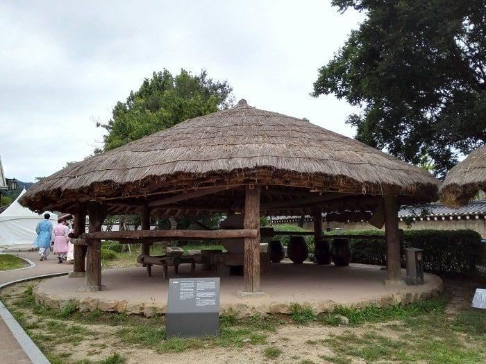 国立民俗博物館 野外展示