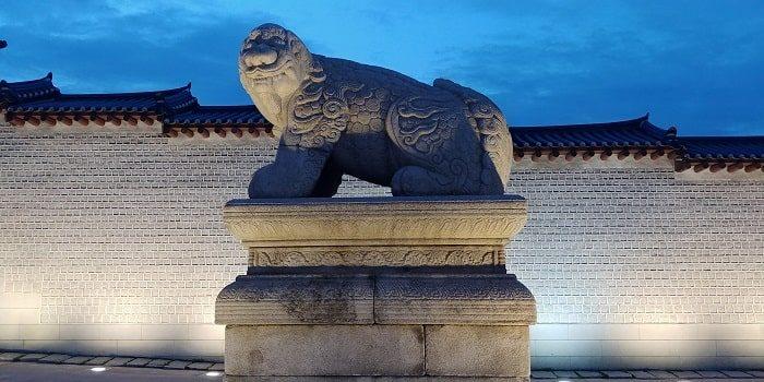 ソウルを象徴するヘチ