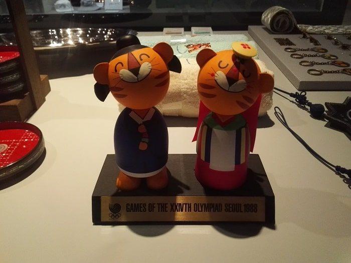 ソウルオリンピックマスコットホドリとホスニ