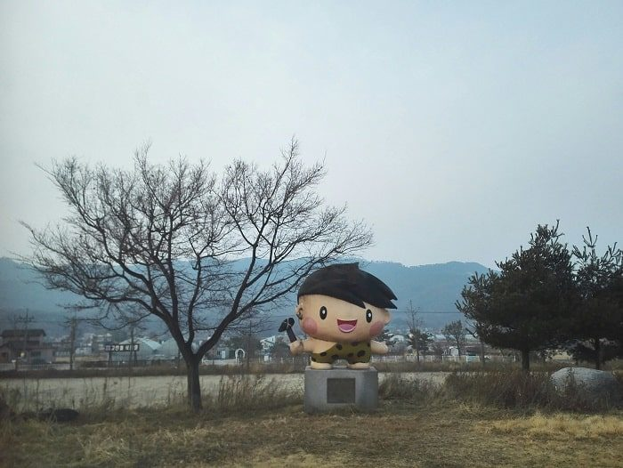 韓国のゆるキャラ江華島コインドル