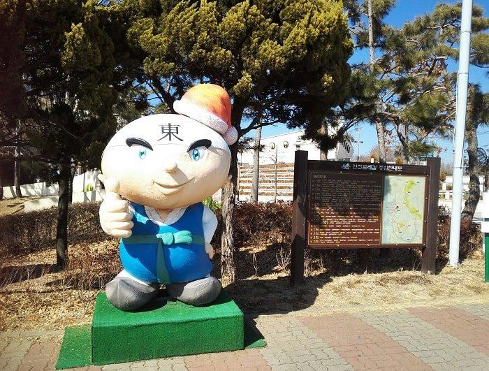 韓国のゆるキャラ 仁川