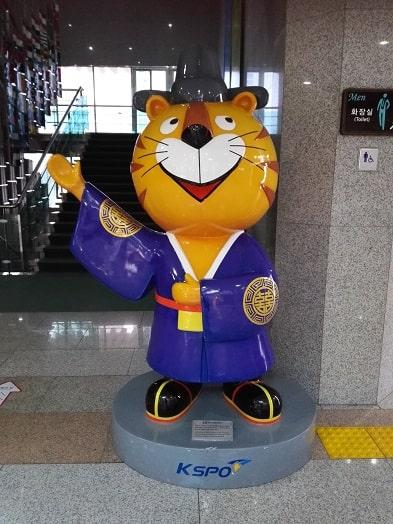 1988年ソウルオリンピックのマスコットキャラクターホドリ