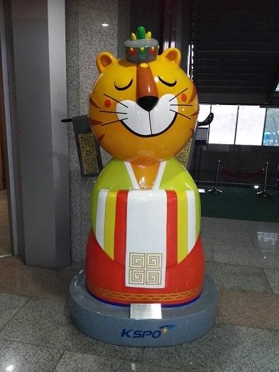 1988年ソウルオリンピックのマスコットキャラクターホスニ