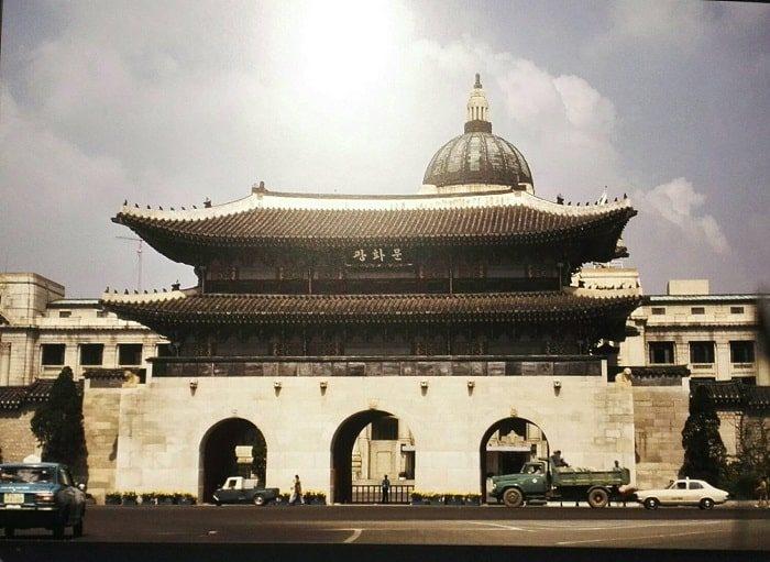 ソウル生活史博物館_1970年代初めの光化門