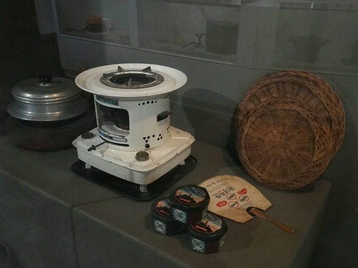 ソウル生活史博物館_練炭と七輪