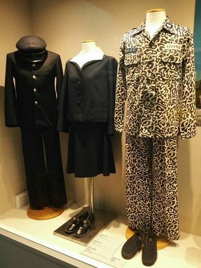 ソウル生活史博物館_70~80年代の制服と教練服