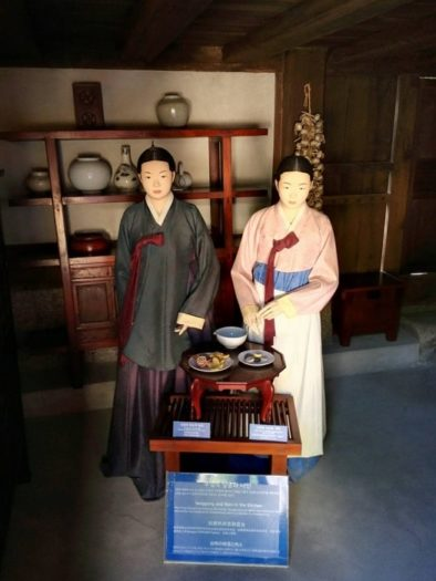 雲峴宮 台所の尚宮(サングン)と女官