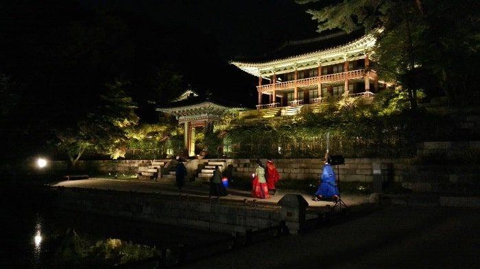 昌徳宮月明かり紀行2019芙蓉池