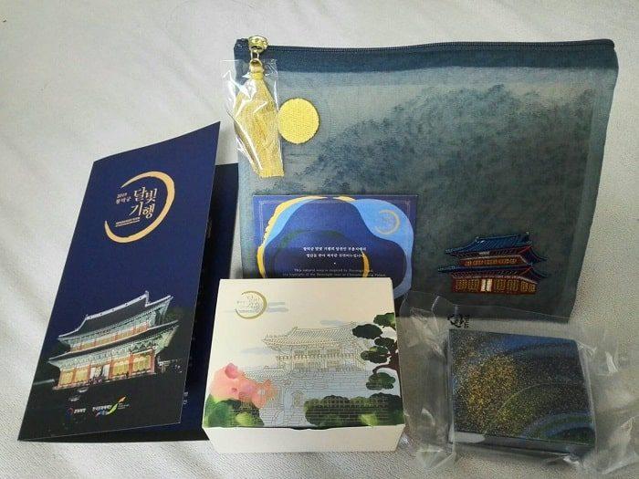 昌徳宮月明かり紀行2019記念品