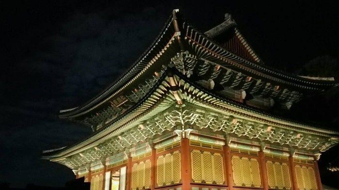 昌徳宮月明かり紀行仁政殿
