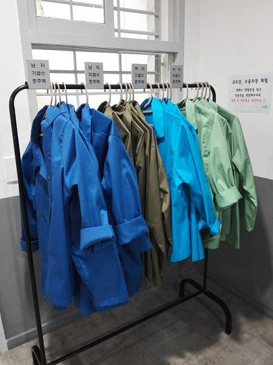 ソウル生活史博物館の拘置監(拘置所)展示室 収監者の