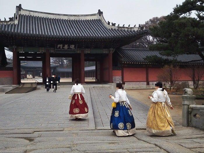 ユネスコ世界文化遺産 昌徳宮進善門