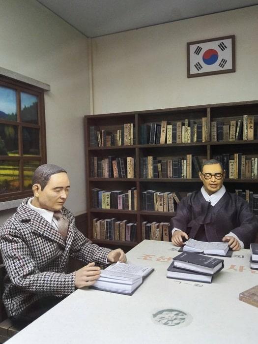 国立ハングル博物館朝鮮語学会による朝鮮語大辞典の編纂会